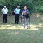 Uctění památky obětem teroru Heydrichiády Vejprnice